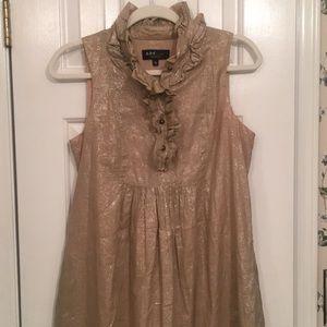 A.B.S foil printed career dress, size 6